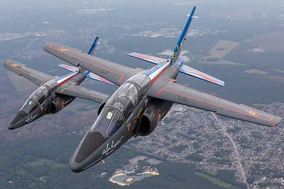 France - Air Force | Dassault-Breguet-Dornier Alpha Jet E | E33 & E114
