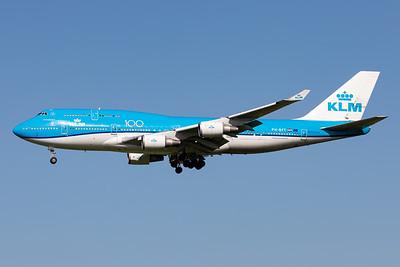 KLM Royal Dutch Airlines | Boeing 747-406(M) | PH-BFT