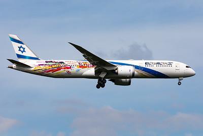 "El Al Israel Airlines | Boeing 787-9 Dreamliner | 4X-EDD | ""San Francisco"" special scheme"