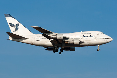 Iran Air | Boeing 747SP-86 | EP-IAB