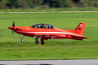 Switzerland - Air Force | Pilatus PC-21 | A-104