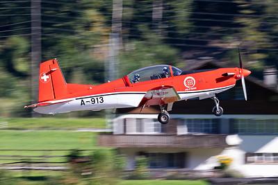 Switzerland - Air Force | Pilatus PC-7 | A-913