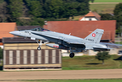 Switzerland - Air Force | McDonnell Douglas F/A-18C Hornet | J-5023