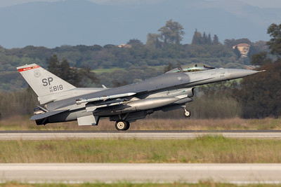 United States - US Air Force (USAF) | General Dynamics F-16CM Fighting Falcon | 90-0818