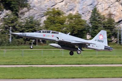 Switzerland - Air Force | Northrop F-5F Tiger II | J-3203