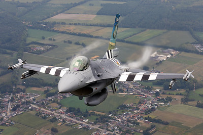 "Belgium - Air Force | General Dynamics F-16AM Fighting Falcon | FA-57 | ""D-Day"" special scheme"