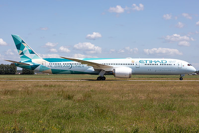 "Etihad Airways | Boeing 787-10 Dreamliner | A6-BMH | ""Greenliner Livery"""