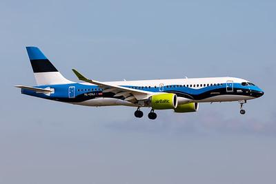 "Air Baltic | Airbus A220-371 | YL-CSJ | ""Estonian Flag"" special scheme"