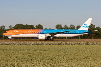 "KLM Royal Dutch Airlines | Boeing 777-306(ER) | PH-BVA | ""Orange Pride"" livery"