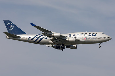 "China Airlines | Boeing 747-409 | B-18211 | ""SkyTeam"" special scheme"