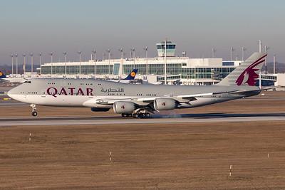 Qatar - Amiri Flight | Boeing 747-8KB(BBJ) | A7-HHE