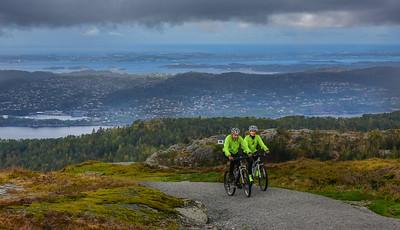 Bergen, Fløyen.