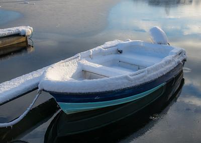 Båtliv, vinter