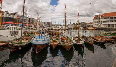 Bergen havn, trebåter