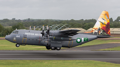 Pakistan Air Force / Lockheed C-130E / 144 / Innovating Firepower