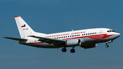 CSA Czech Airlines / B737-300 / OK-XGC / Red Retro