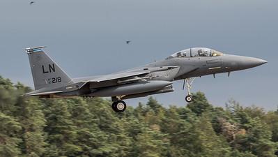 USAF 492 FS / Boeing F-15E Strike Eagle / 97-0218 LN