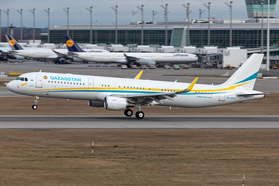 Government of Kazakhstan / Airbus A321-200 / UP-A2101