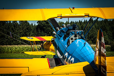 Spirit of Galesburg / Boeing A75N1 Stearman / N55097   Spirit of Galesburg / Boeing A75N1 Stearman / N55097