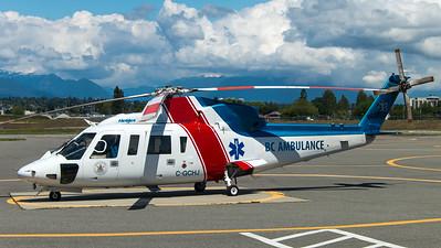 Helijet BC Ambulance / Sikorsky S-76C / C-GCHJ