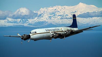 Everts Air Fuel / Douglas DC-6B Liftmaster / N6586C   Everts Air Fuel / Douglas DC-6B / N6586C