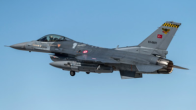 Turkish Air Force 193 Filo / Lockheed Martin F-16C Block 50 / 93-0681