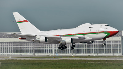 Sultanate of Oman / Boeing B747SP / A4O-SO
