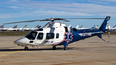Mercy Air / AgustaWestland AW109E Power / N127AM