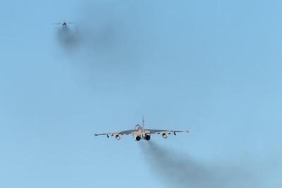 Azerbaijan Air Force / Sukhoi Su-25 Frogfoot / Blue 08 & Blue 23