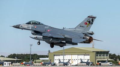 Turkish Air Force 182 Filo / Lockheed Martin F-16C Block 40 / 90-0013