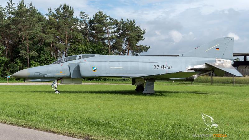 German Air Force JG-74 / McDonnellDouglas F-4F Phantom II / 37+61