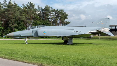 German Air Force JG-74 / McDonnellDouglas F-4F Phantom II / 37+61