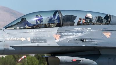 Turkish Air Force 151 Filo / Lockheed Martin F-16D Block 40 / 91-0022