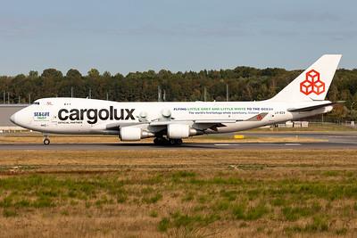 "Cargolux | Boeing 747-4HQERF | LX-ECV | ""Beluga Whale Sanctuary"" special scheme"