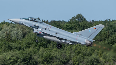 German Air Force TLG 73 / Eurofighter Typhoon / 31+22