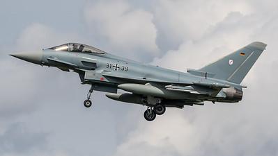 German Air Force TLG-31 / Eurofighter Typhoon / 31+39
