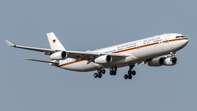 German Air Force / Airbus A340-313X / 16+01