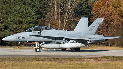 Spanish Air Force / EF-18BM Hornet / CE.15-06
