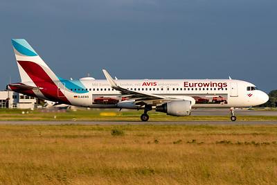 Eurowings / Airbus A320 / D-AEWS / Avis