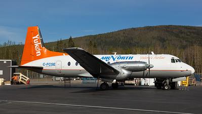 Air North Yukon Airlines / Hawker Siddeley HS748-2A / C-FCSE