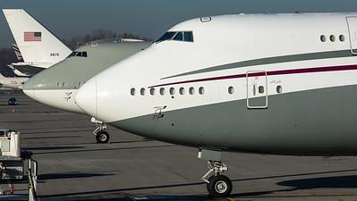 Qatar Amiri Flight / B747-8BBJ / A7-HBJ