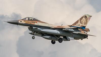 Israeli Air Force 101 Squadron / Lockheed Martin F-16C Block 40 / 534