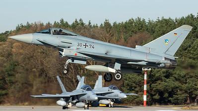 Luftwaffe TLG 74 / Eurofighter EF2000 / 30+74