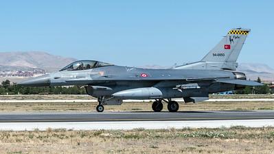 Turkish Air Force 113 Filo / Lockheed Martin F-16C Block 40 / 94-0039
