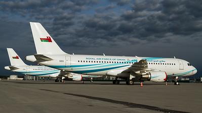 Royal Air Force of Oman / A320-200 / 555