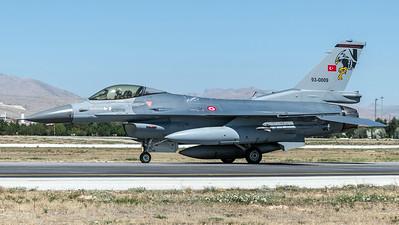 Turkish Air Force 182 Filo / Lockheed Martin F-16C Block 40 / 93-0009