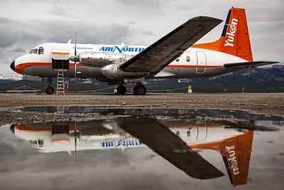 Air North Yukon Airlines / Hawker Siddeley HS748-2A / C-FYDU