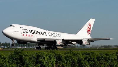 Dragonair Cargo / B747-300(SF) / B-KAA