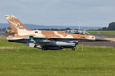 Israel - Air Force | General Dynamics F-16D Barak  | 682