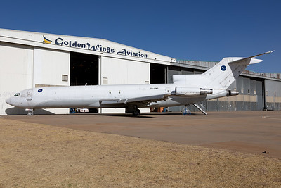 A Nigerian registered B722F awaiting maintenance at Golden Wings Aviation in Johannesburg